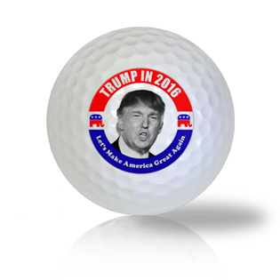Donald Trump Let's Make America Great Again Golf Balls - Found Golf Balls