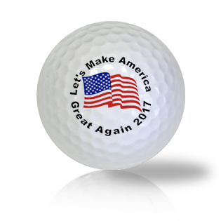 Donald Trump Let's Make America Great Again Golf Balls Used Golf Balls - Foundgolfballs.com