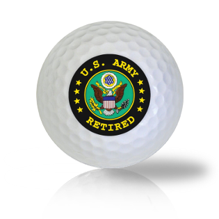 US Army Retired Golf Balls Used Golf Balls - Foundgolfballs.com