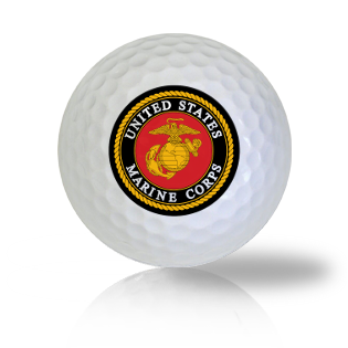 US Marines Golf Balls Used Golf Balls - Foundgolfballs.com