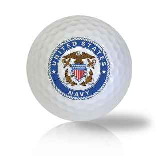 US Navy Emblem Golf Balls
