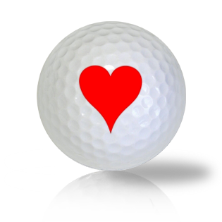 Heart Golf Balls - Found Golf Balls