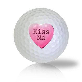 Kiss Me Golf Balls Used Golf Balls - Foundgolfballs.com