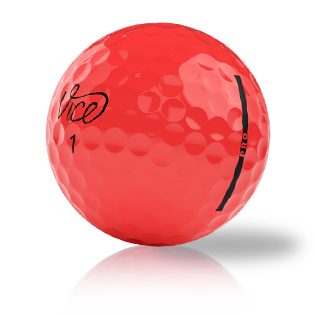 Vice Pro Red Used Golf Balls - Foundgolfballs.com