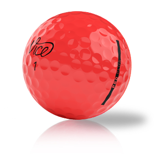 Custom Vice Pro Plus Red Used Golf Balls - Foundgolfballs.com