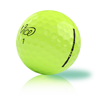 Vice Pro Soft Lime Used Golf Balls - Foundgolfballs.com
