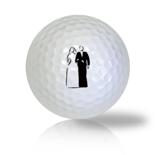 Bride & Groom Used Golf Balls - Foundgolfballs.com