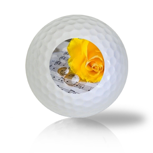 Wedding Rings Golf Balls