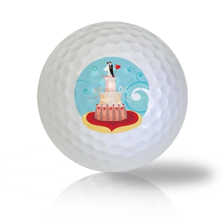 Wedding Cake Golf Balls