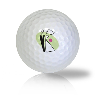 Bride & Groom Golf Balls Used Golf Balls - Foundgolfballs.com