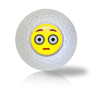 Really?!? Emoticon Golf Balls Used Golf Balls - Foundgolfballs.com