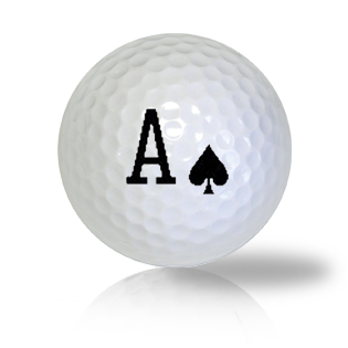 Ace Of Spades Golf Balls - Found Golf Balls