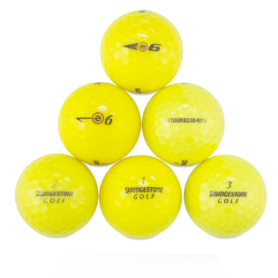 Custom Bridgestone Yellow Mix Used Golf Balls - Foundgolfballs.com