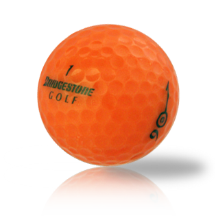 Bridgestone e6 Orange Used Golf Balls - Foundgolfballs.com