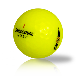 Custom Bridgestone e6 Yellow Used Golf Balls - Foundgolfballs.com