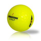 Custom Bridgestone e6 Yellow - Found Golf Balls