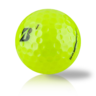 Custom Bridgestone e6 B Yellow Used Golf Balls - Foundgolfballs.com