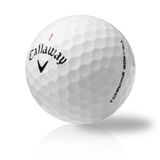 Callaway Chrome Soft X Used Golf Balls - Foundgolfballs.com