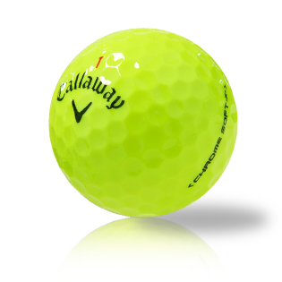 Callaway Chrome Soft X Yellow Used Golf Balls - Foundgolfballs.com
