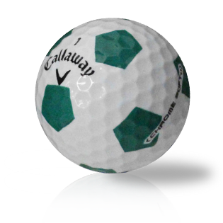 Callaway Chrome Soft X Truvis Green Used Golf Balls - Foundgolfballs.com