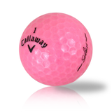 Callaway Hex Solaire Pink Used Golf Balls - Foundgolfballs.com