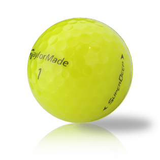 TaylorMade Yellow Mix Used Golf Balls - Foundgolfballs.com
