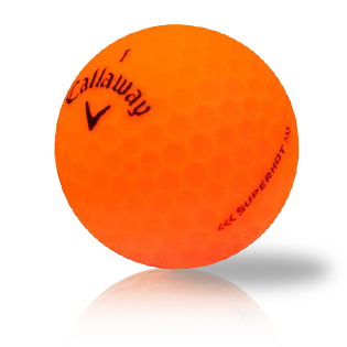 Custom Callaway Superhot Bold Orange Used Golf Balls - Foundgolfballs.com