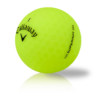 Callaway Superhot Bold Yellow Used Golf Balls - Foundgolfballs.com