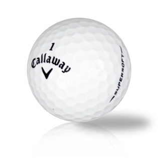 Callaway Supersoft - Found Golf Balls