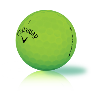 Callaway Supersoft Bold Lime 2019 Used Golf Balls - Foundgolfballs.com