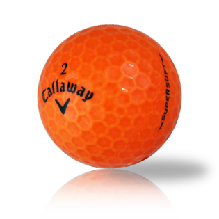 Callaway Supersoft Orange Used Golf Balls - Foundgolfballs.com