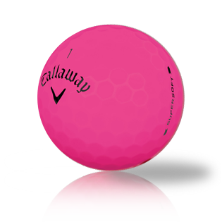 Callaway Supersoft Bold Pink 2019 Used Golf Balls - Foundgolfballs.com