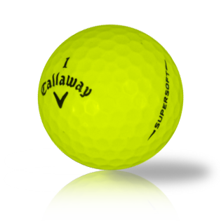 Callaway Supersoft Yellow Used Golf Balls - Foundgolfballs.com