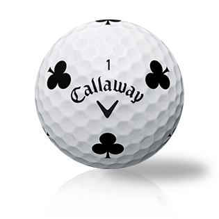 Callaway Chrome Soft Truvis Black Clubs Used Golf Balls - Foundgolfballs.com