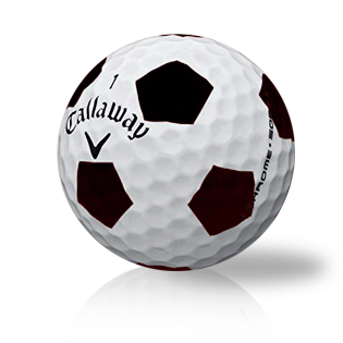 Callaway Chrome Soft Truvis Black Used Golf Balls - Foundgolfballs.com
