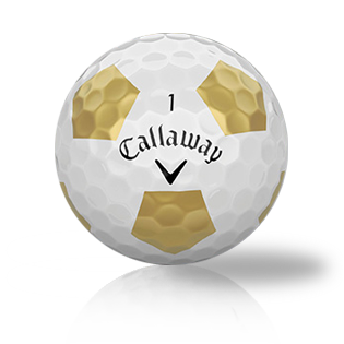 Callaway Chrome Soft Truvis Gold Used Golf Balls - Foundgolfballs.com
