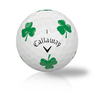 Callaway Chrome Soft Truvis Green Clover Used Golf Balls - Foundgolfballs.com
