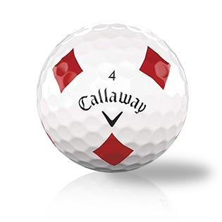 Callaway Chrome Soft Truvis Red Diamonds Used Golf Balls - Foundgolfballs.com