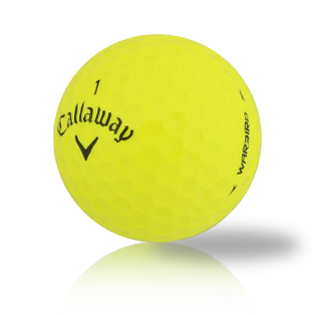 Callaway Warbird Yellow Used Golf Balls - Foundgolfballs.com