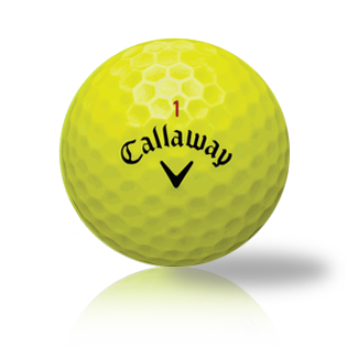 Callaway Yellow Mix Used Golf Balls - Foundgolfballs.com