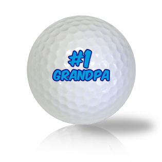 #1 Grandpa Golf Balls - Found Golf Balls