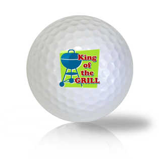 King Of The Grill Golf Balls - Found Golf Balls