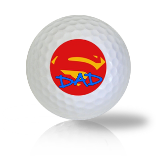 Super Dad Golf Balls - Found Golf Balls