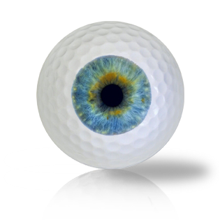 Baby Blue Eye Ball Golf Balls Used Golf Balls - Foundgolfballs.com