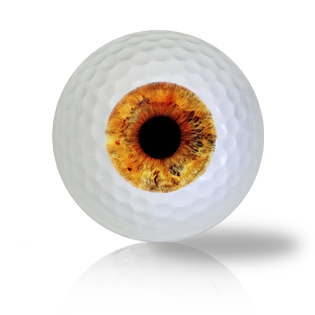 Bronze Eye Ball Golf Balls Used Golf Balls - Foundgolfballs.com