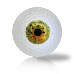 Green Rust Eye Ball Golf Balls - Found Golf Balls