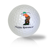 Happy Golfing Retirement Golf Balls Used Golf Balls - Foundgolfballs.com