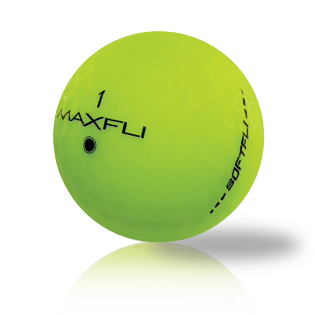 Maxfli SoftFli Matte Green Used Golf Balls - Foundgolfballs.com
