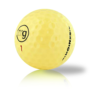 MG Yellow Used Golf Balls - Foundgolfballs.com