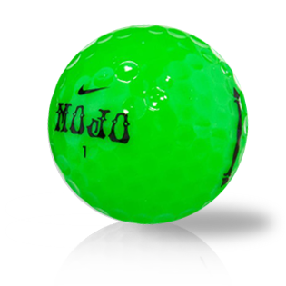 Nike Mojo Green Used Golf Balls - Foundgolfballs.com
